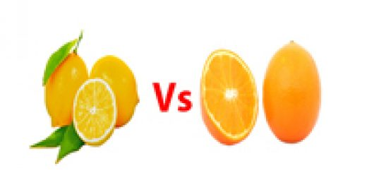 Lemon vs orange