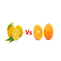 Lemon vs orange